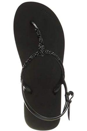 flip*flop Damen Sparkle Sandalen, black