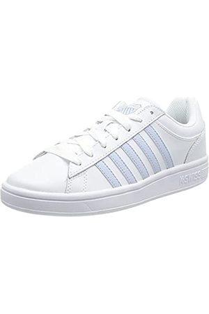 K-Swiss Damen Court Winston Sneaker, (White/Heather 123)