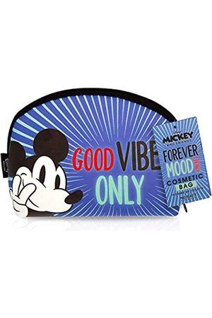 Mad Beauty Mickey & Friends Kosmetiktaschen (Blau) - DM&F-FG2312-6