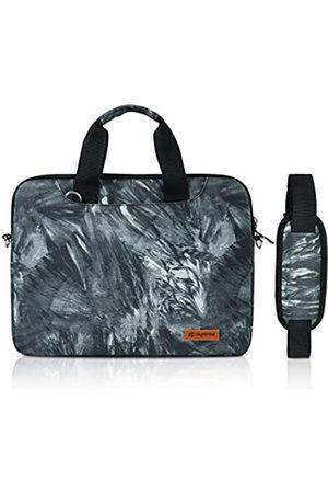 OMYSTYLE Laptop-Schultertasche mit Druck-Design, wasserdicht, für Damen und Herren, 33,8 cm (13