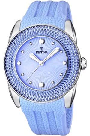 Festina Damen-Armbanduhr Analog Quarz Kautschuk F16591/4