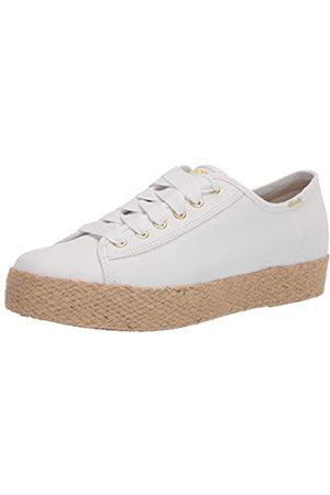 Keds Damen Triple Kick Jute Canvas Organic Sneaker