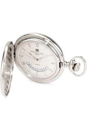 CHARLES-HUBERT PARIS Herren Uhren - 3900-W Classic Collection Quarz-Taschenuhr mit polierter Oberfläche