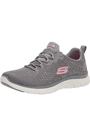Skechers Damen Flex Appeal 4.0-Vivid Spirit Sneaker, Gypk =