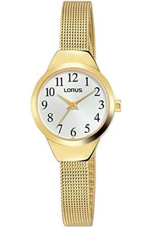 Lorus Klassik Damen-Uhr Edelstahl mit Metallband RG222PX9