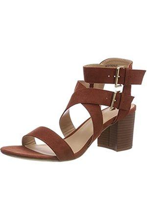 New Look Paladium, Damen Peep-Toe, (Dark Khaki 34)
