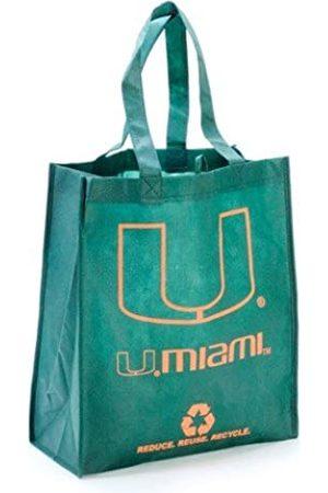 FOCO Unisex-Erwachsene Miami Hurricanes Wiederverwendbare Einkaufstasche aus nicht gewebtem Polypropylen