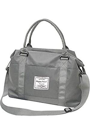 AUSTARK Sporttasche Reisetasche Weekender Gym Tote Bag Große Nylon Übernachtung Schultertasche mit Trolleyhülle und Nasstasche für Damen Herren