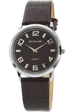 Excellanc Herren-Uhren mit Polyurethan Lederband 292027000020