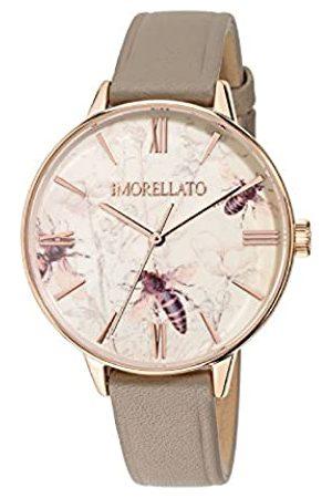 Morellato Damen Analog Quarz Uhr mit Leder Armband R0151141505