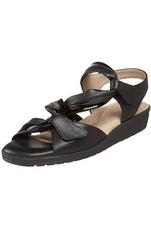 BeautiFeel Damen ELBA, Schwarz (Kombination aus schwarzem Leder/Lack)