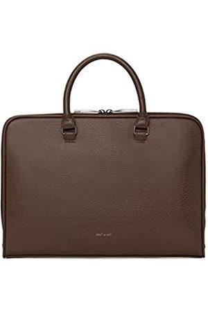 Matt & Nat Vegane Handtaschen Halter Messenger Bag Schwarz (Schwarz)