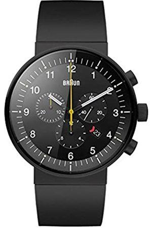 Braun Unisex Analog Quarz Kautschuk Armbanduhr BN0095BKBKBKG