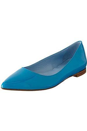 Pollini Damen SCARPAD.TUNIT10 Vernice Turchese Geschlossene Ballerinas, (702 Turquoise PATENT)