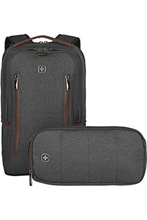 Wenger Wenger CityUpgrade Laptop-Rucksack mit Umhängetasche, Notebook bis 16 Zoll, Tablet bis 12 Zoll, 15 l, Damen Herren, Business Uni Schule Reisen