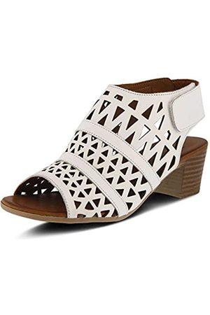 Spring Step Women's Style Dorotha White EURO Size 39 Leather Sandal