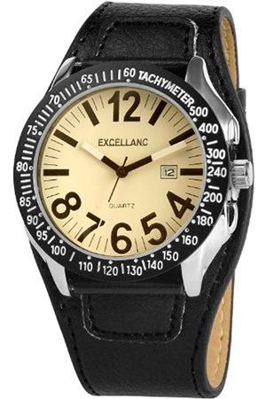 Excellanc Herren-Uhren mit Polyurethan Lederband 295022000049