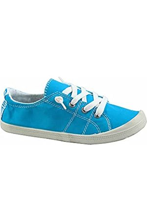 Generic FZ-Comfort-01 Damen Süße Komfort Slip On Flache Ferse Runde Zehen Sneaker Schuhe, (königsblau)