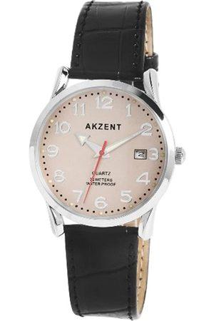 Akzent Herren-Uhren mit Polyurethan Lederband SS7721500002