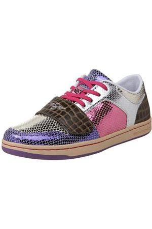 Creative Recreation Damen Cesario Lo Low-Top Sneaker, Silber (Mulit Snakeskin/Sepia/Croc)