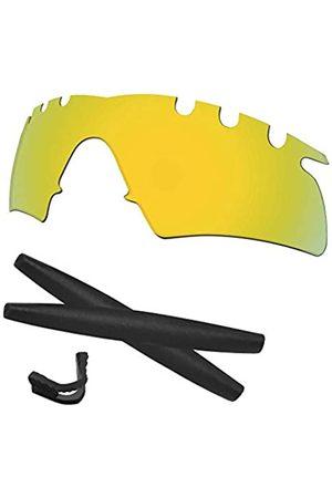 Predrox M Frame Hybrid belüftete Gläser & Gummi Kits Ersatz für Oakley Sonnenbrille