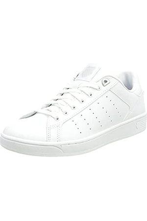 K-Swiss Damen CLEAN Court CMF Sneaker, White/GULLGRAY/White