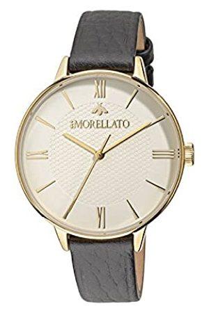Morellato Damen Analog Quarz Uhr mit Leder Armband R0151141506