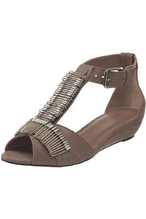 Loeffler Randall Damen Lexi T-Strap Sandale, (Stone)