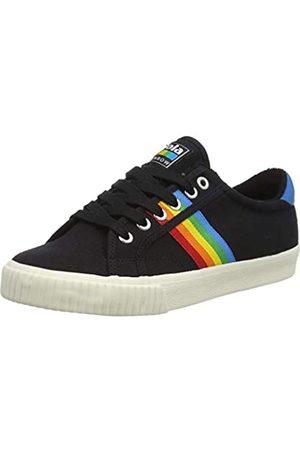 Gola Damen Tennis Mark Cox Rainbow II Sneaker, Black/Multi