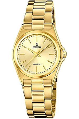 Festina Damen Analog Quarz Uhr mit Edelstahl Armband F20557/3