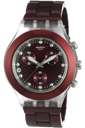 Swatch Herren-Armbanduhr Full-Blooded Burgundy SVCK4054AG