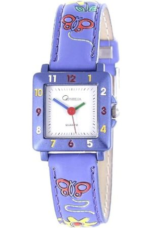 ORPHELIA Unisex-Armbanduhr Analog Leder