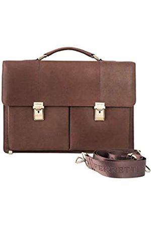 Giorgio Ferretti Große Herren Leder Aktentasche Made in Italy Echtleder Herren Leder Aktentasche Tasche