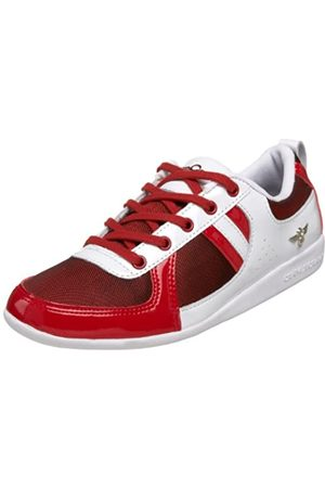 Creative Recreation Damen Galow Fashion Sneaker, (Rotes Netz)