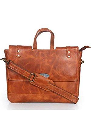 creative art & craft Leder Messenger Bag Laptop Crossbody Damen Kurier für Frauen Taschen Indien Einzigartige Ziege Männer Rustikale Stadt Messenger Vintage Tasche