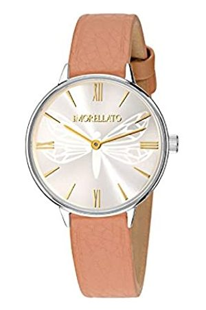 Morellato Damen Analog Quarz Uhr mit Leder Armband R0151141502