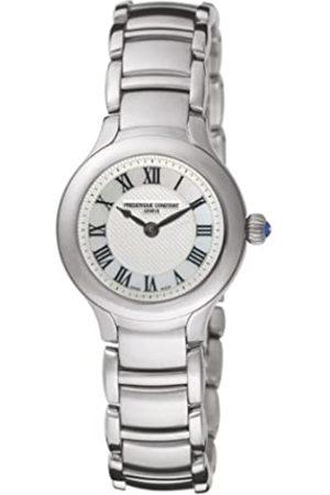 Frederique Constant Damen-Armbanduhr XS Junior Analog Quarz Edelstahl FC-200M1ER6B