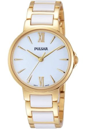 Pulsar Damen-Armbanduhr XS Modern Analog Quarz Keramik PH8076X1