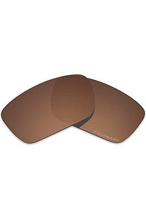 Tintart Leistungslinsen, kompatibel mit Oakley Fuel Cell polarisiert, geätzt., Braun (Nussbraun – polarisiert.)