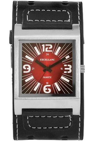 Excellanc Herren-Uhren mit Polyurethan Lederband 195025000112