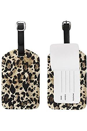 SEULIFE Gepäckanhänger mit Leopardenmuster für Reisekoffer