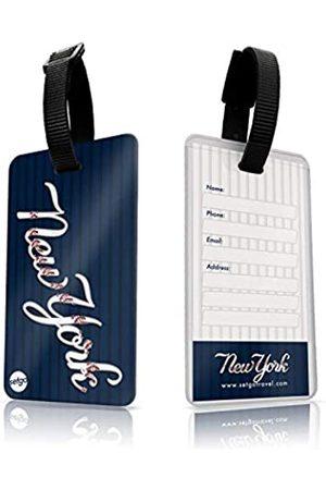 SetGo Sports NYC Gepäckanhänger (2er Set), Kunststoff Sportanhänger für Koffer