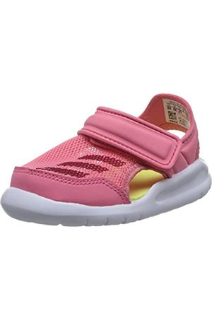 adidas Unisex Baby Fortaswim I Durchgängies Plateau Sandalen, Pink (Chalk Pink S18/vivid Berry S14/ftwr White)