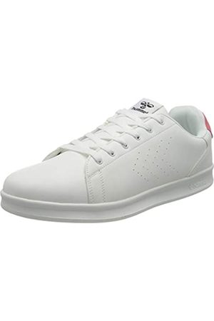 Hummel Unisex-Erwachsene BUSAN Sneaker, White/PINK