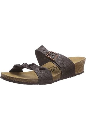 Papillio Damen ALICIA Offene Sandalen mit Keilabsatz, (NEMO BROWN)