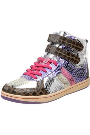 Creative Recreation Women's Dicoco High-Top Sneaker,Mulit Snakeskin/Sepia/Croc