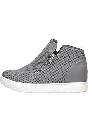 CUSHIONAIRE Hart Damen Sneaker mit verstecktem Keilabsatz und breiter Weite erhältlich, ( PU)