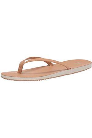 Hurley Damen Nike Lunarlon Lunar Flip Flop Sandal Flipflop, Vachetta Tan/Blasses Elfenbein