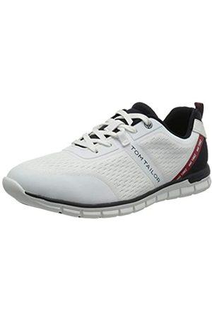 TOM TAILOR Herren 1181902 Sneaker, White