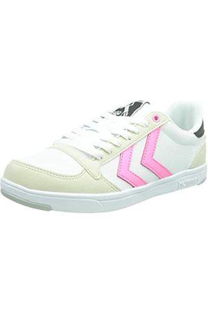 Hummel Unisex-Erwachsene Stadil Light Canvas Sneaker, White/PINK